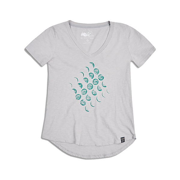 United By Blue Moon Cycle Womens T-Shirt, , 600
