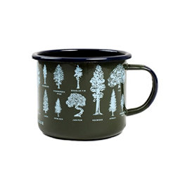 United By Blue Evergreen Enamel Steel Mug 2018, , 256