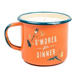 United By Blue Smores Enamel Candle Mug, , 256