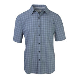Purnell 4-Way Stretch Quick Dry Grey Plaid Mens Shirt, , 256