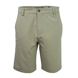 Purnell Heather Quick Dry 10in. Mens Hybrid Shorts, Khaki, 256