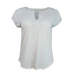 Purnell Heathered Tee Womens T-Shirt, Heather Grey, 256