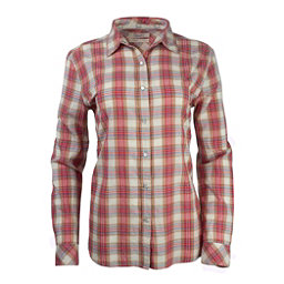 Purnell Garnet Madras Plaid Womens Shirt, , 256