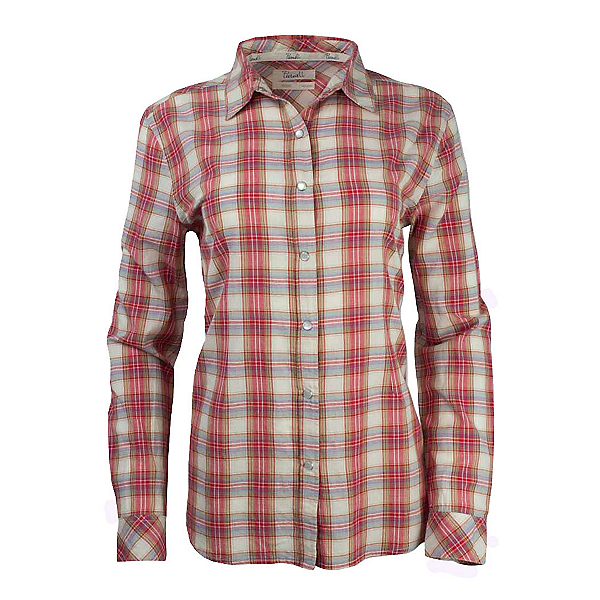 Purnell Garnet Madras Plaid Womens Shirt, , 600
