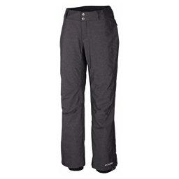 Columbia Bugaboo Short Womens Ski Pants, Black Crossdye, 256
