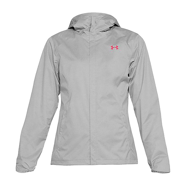 Under Armour Overlook Womens Jacket, True Gray Heather-Elemental-Ho, 600