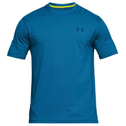 Under Armour Sunblock Short Sleeve Mens T-Shirt, Cruise Blue-Bitter-Moroccan Bl, 256