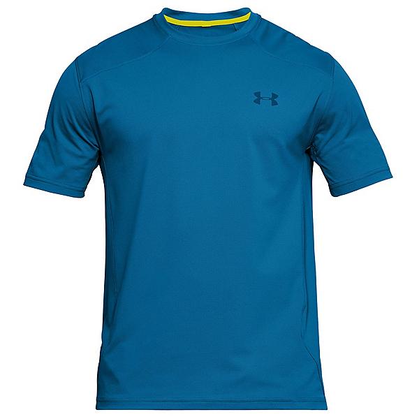 Under Armour Sunblock Short Sleeve Mens T-Shirt, Cruise Blue-Bitter-Moroccan Bl, 600