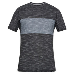 Under Armour Lifestyle Pocket Mens T-Shirt, Black-Black, 256