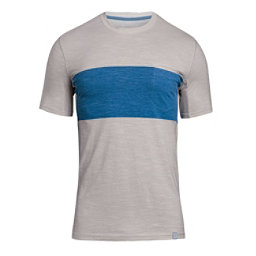 Under Armour Lifestyle Pocket Mens T-Shirt, Ghost Gray-Ghost Gray, 256