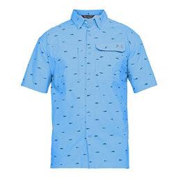 Under Armour Fish Hunter Short Sleeve Plaid Mens Shirt, , 256