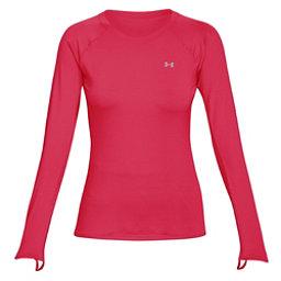 Under Armour Sunblock Long Sleeve Womens Shirt, Hollywood-Overcast Gray-Overca, 256