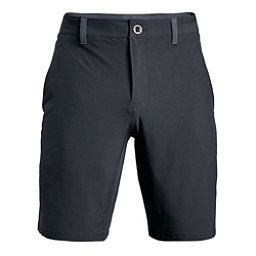 Under Armour Mantra Mens Hybrid Shorts, Stealth Gray-Black, 256