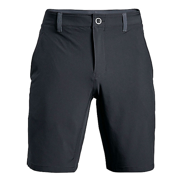 Under Armour Mantra Mens Hybrid Shorts, Stealth Gray-Black, 600