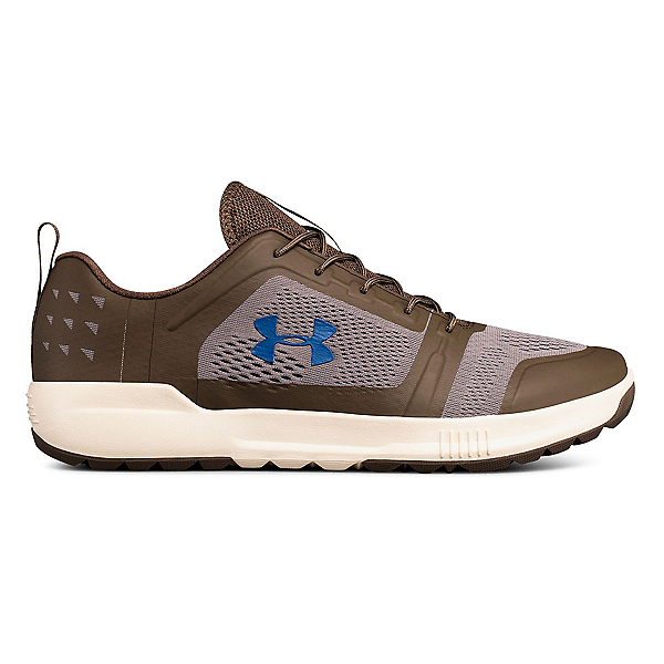 Under Armour Scupper Mens Watershoes, Hearthstone-Pewter-Moroccan Bl, 600