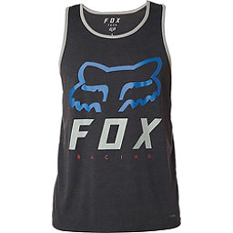 Fox Heritage Forger Tech Tank Mens T-Shirt, Heather Black, 256