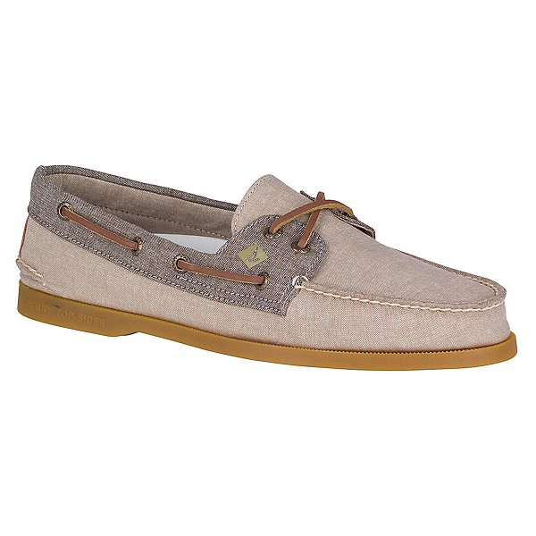 Sperry A/O 2-Eye Chambray Mens Shoes, , 600
