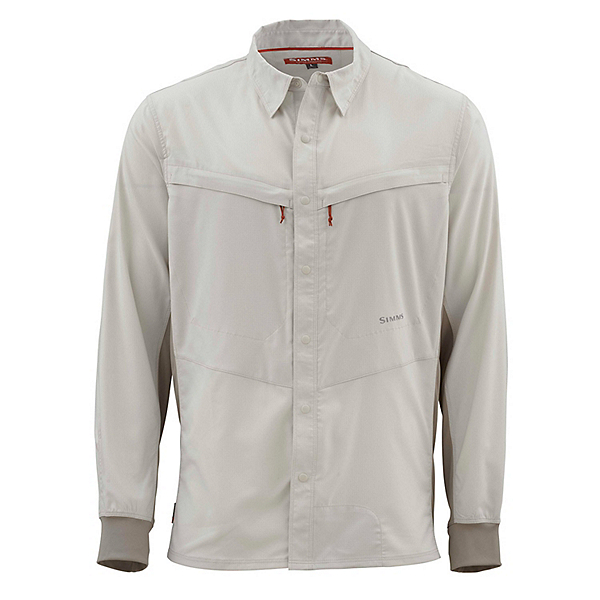 Simms Intruder Bicomp Long Sleeve Mens Shirt, , 600