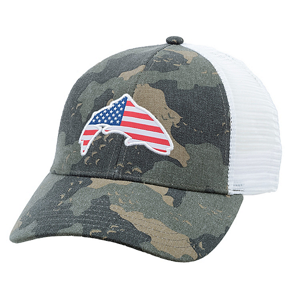 Simms USA Patch Trucker Hat, , 600