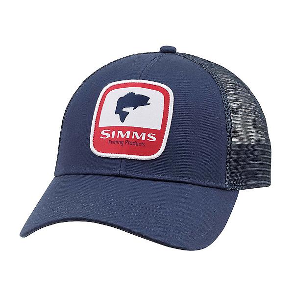 Simms Bass Patch Trucker Hat, , 600