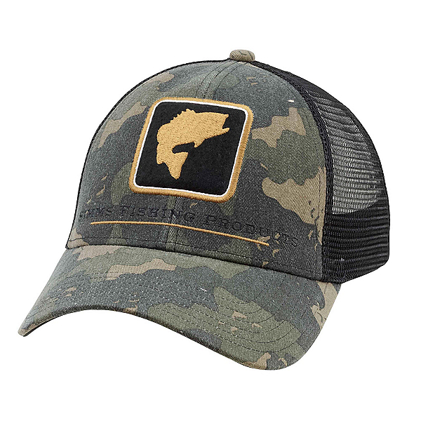 Simms Bass Icon Trucker Hat, , 600