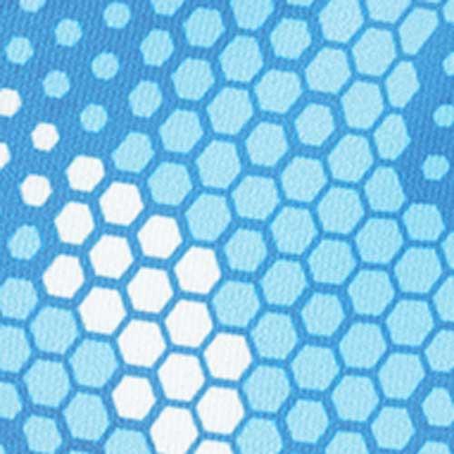 Simms Solarflex Sun Glove, Hex Camo Sky Blue, colorswatch30