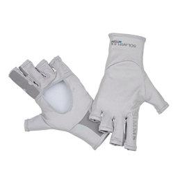 Simms Solarflex Sun Glove, Grey, 256