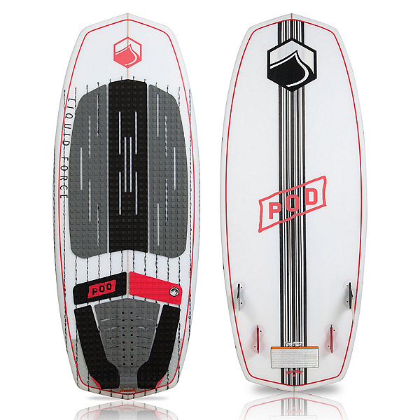 Liquid Force POD Wakesurfer, 4ft3in, 600