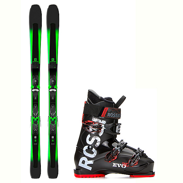 Salomon XDR 78 ST Evo 70 Ski Package 2018, , 600