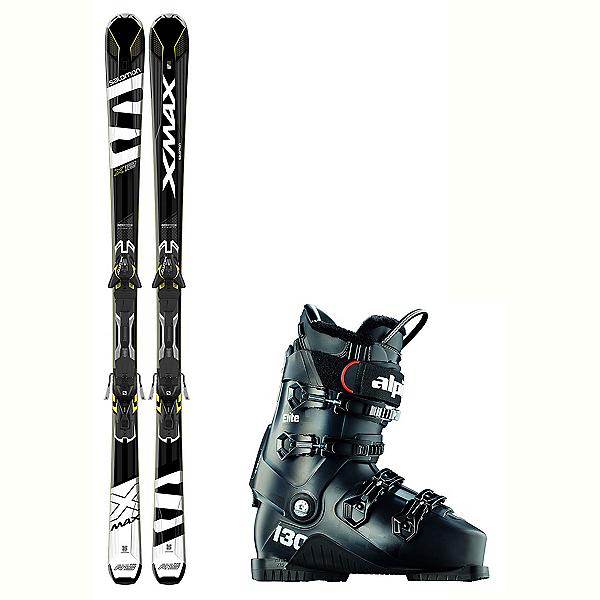 Salomon X-Max X12 Elite Stealth In Temp Ski Package, , 600