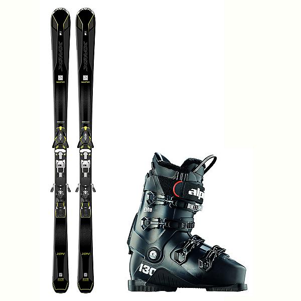 Salomon X-Max X14 Carbon Elite Stealth In Temp Ski Package, , 600