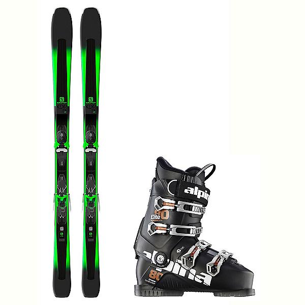 Salomon XDR 78 ST Elite 80 In Temp Ski Package, , 600