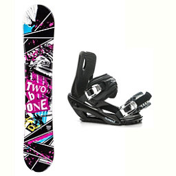 2B1 Arise Rocker Stealth 3 Snowboard and Binding Package 2018, , 256