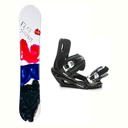 2B1 Play Black Stealth 3 Snowboard and Binding Package 2018, , 256