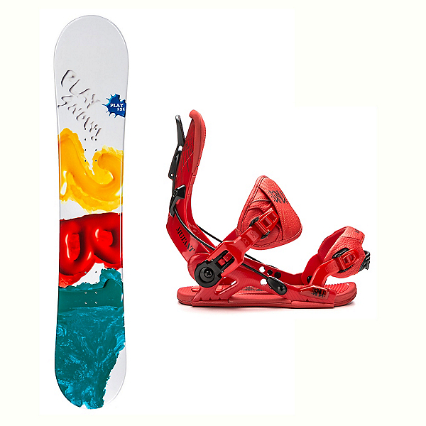 2B1 Play Green Mutant Snowboard and Binding Package, , 600
