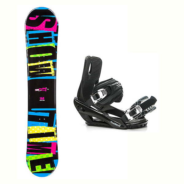 2B1 Showtime Blue Stealth 3 Snowboard and Binding Package, , 600