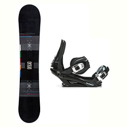 Flow Merc Stealth 3 Snowboard and Binding Package 2018, , 256