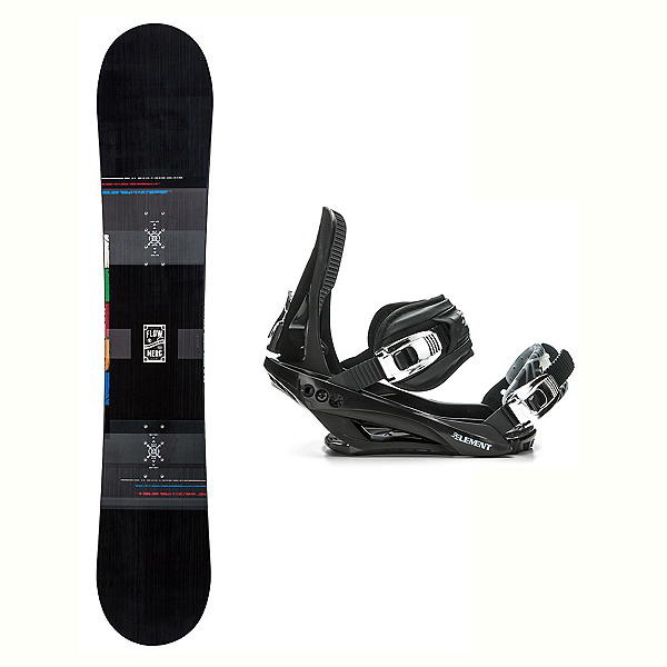 Flow Merc Stealth 3 Snowboard and Binding Package, , 600