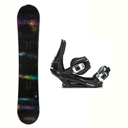 SLQ Domain Stealth 3 Snowboard and Binding Package 2018, , 256