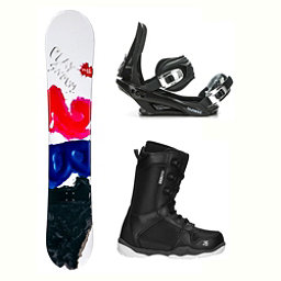 2B1 Play Black ST-1 Complete Snowboard Package 2018, , 256