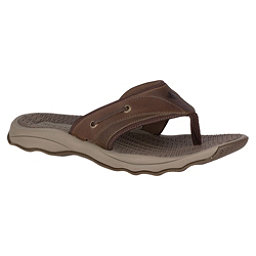 Sperry Outer Banks Thong Mens Flip Flops, Brown, 256