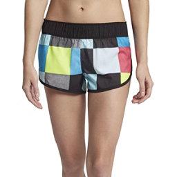 Hurley Supersuede Kingsroad Womens Board Shorts, Lagoon Pulse, 256