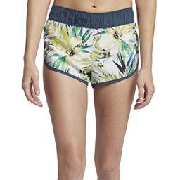 Hurley Supersuede Garden Womens Board Shorts, Pure Platinum, 256
