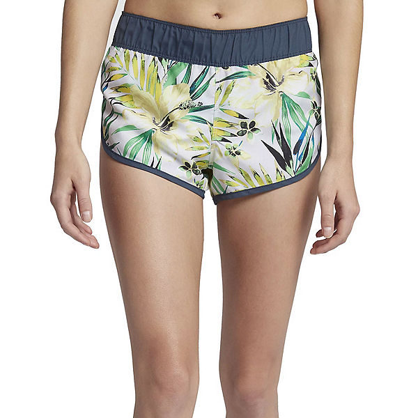 Hurley Supersuede Garden Womens Board Shorts, Pure Platinum, 600