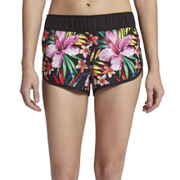 Hurley Supersuede Garden Womens Board Shorts, Black, 256