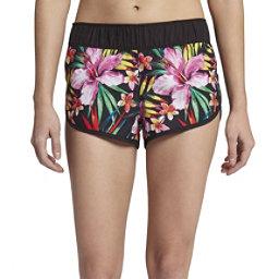 Hurley Supersuede Garden Womens Board Shorts, Black, 256