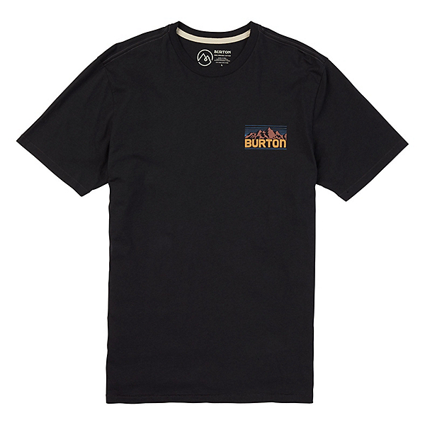 Burton Tidewell Mens T-Shirt, Phantom, 600