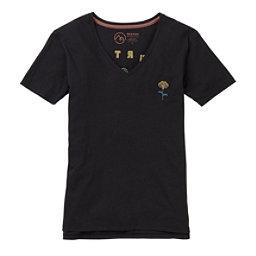 Burton Keeler V-Neck Short Sleeve Womens T-Shirt, , 256