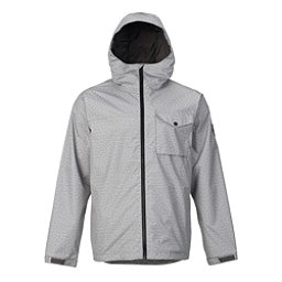 Burton Portal Mens Jacket, High Rise Heather, 256