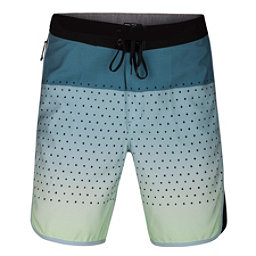 Hurley Phantom Motion Third Reef Mens Board Shorts, Ocean Bliss, 256